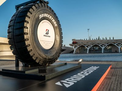 BRIDGESTONE - WORLD'S LARGEST TIRE